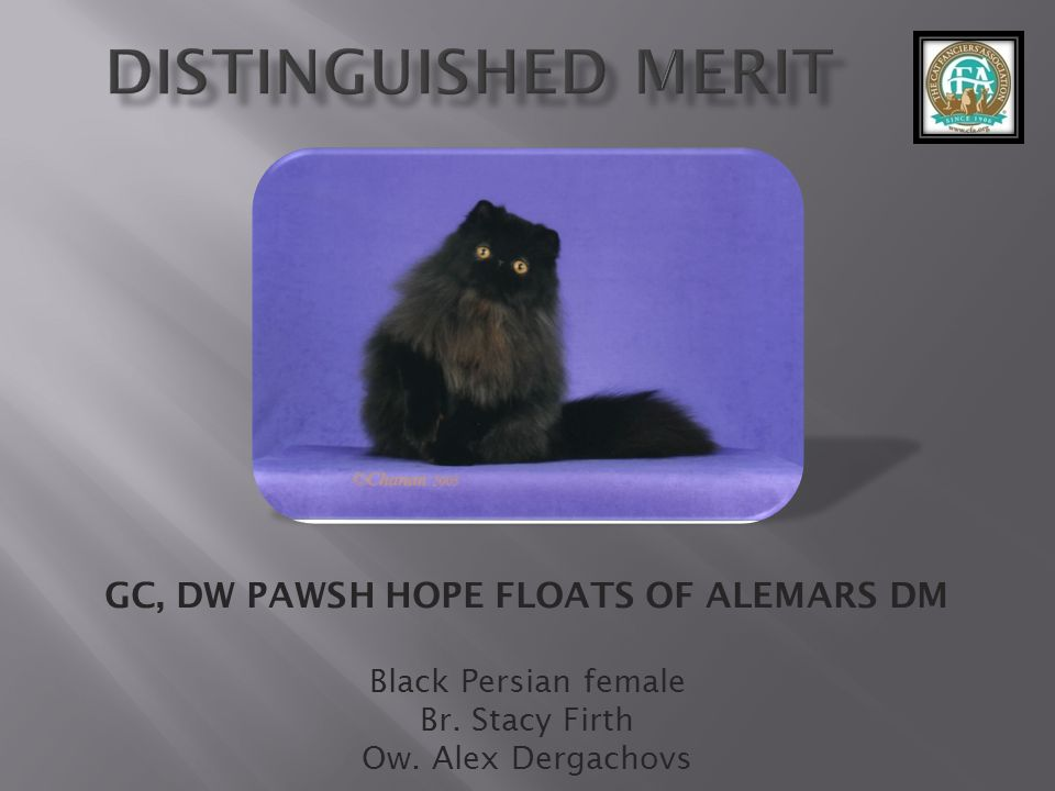 GC, DW PAWSH HOPE FLOATS OF ALEMARS DM