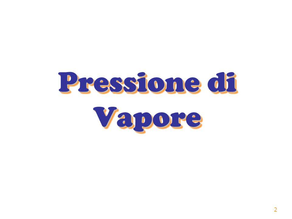 Pressione di Vapore