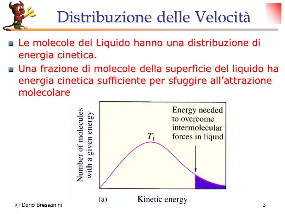 Distribuzione delle Velocità