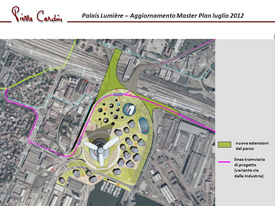 Palais Lumière – Aggiornamento Master Plan luglio 2012
