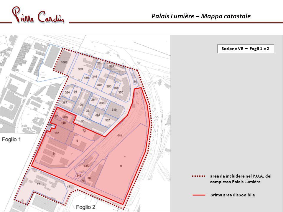 Palais Lumière – Mappa catastale