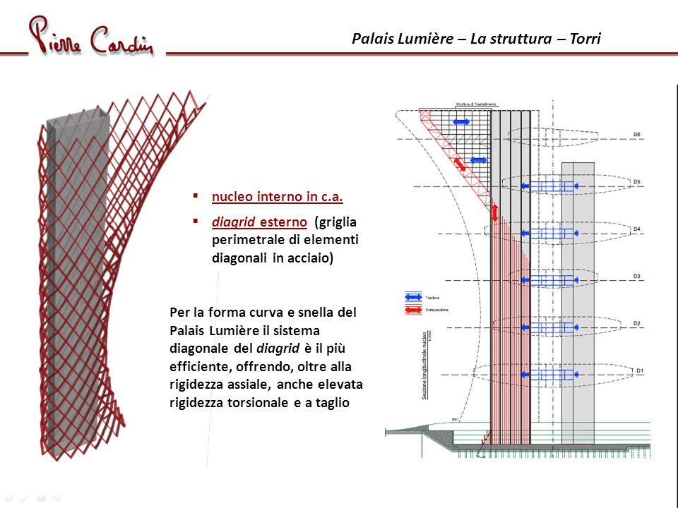 Palais Lumière – La struttura – Torri