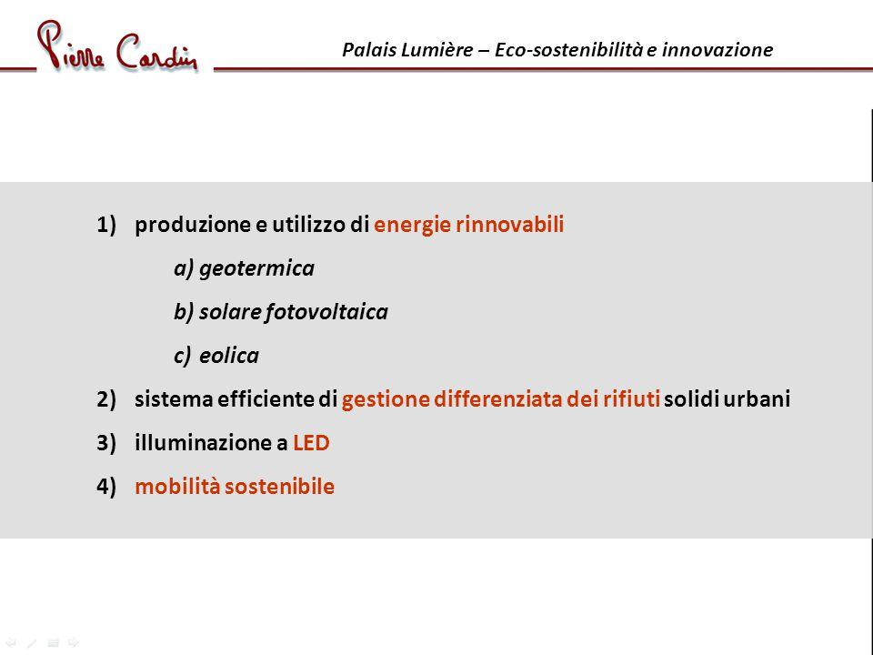 produzione e utilizzo di energie rinnovabili geotermica