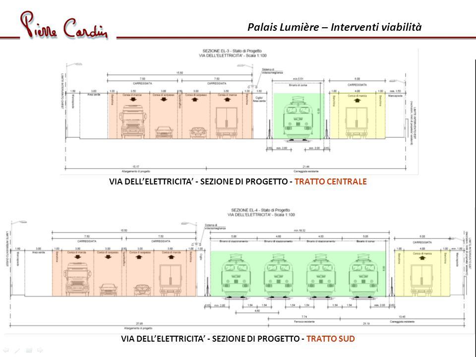 Palais Lumière – Interventi viabilità