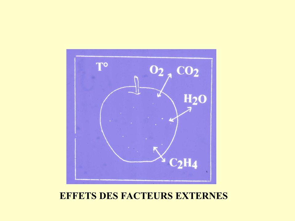 EFFETS DES FACTEURS EXTERNES