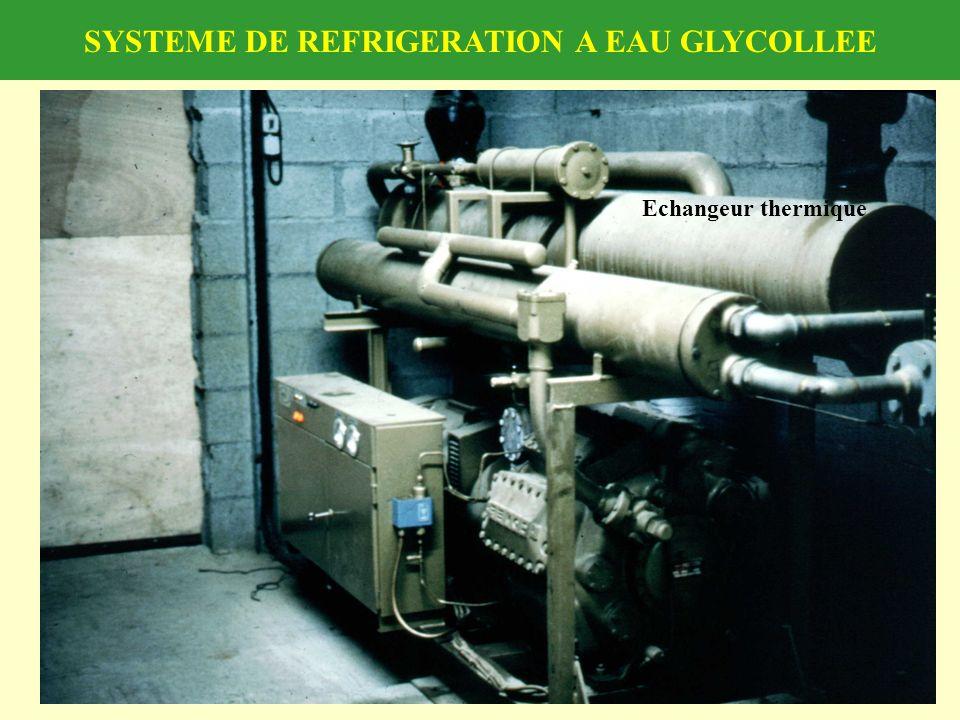 SYSTEME DE REFRIGERATION A EAU GLYCOLLEE