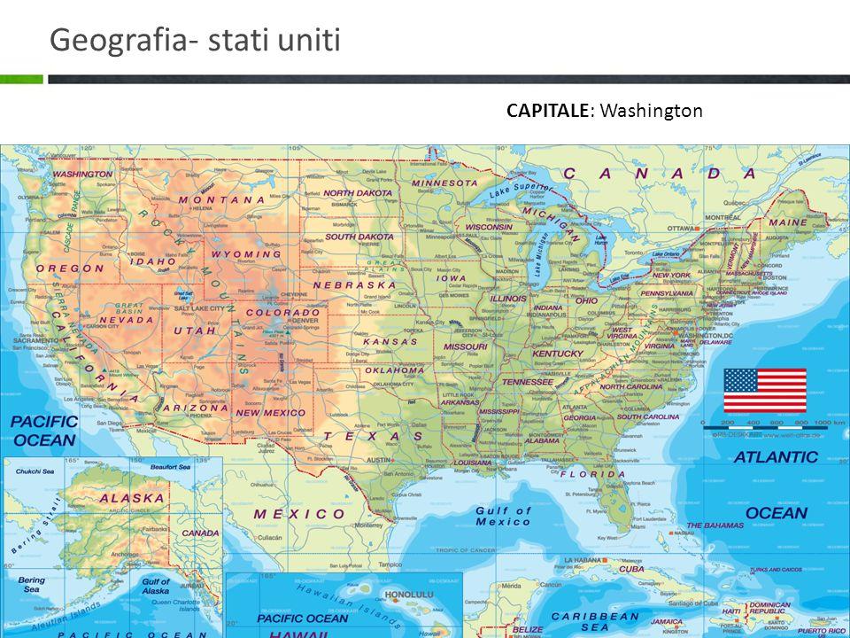 Geografia- stati uniti
