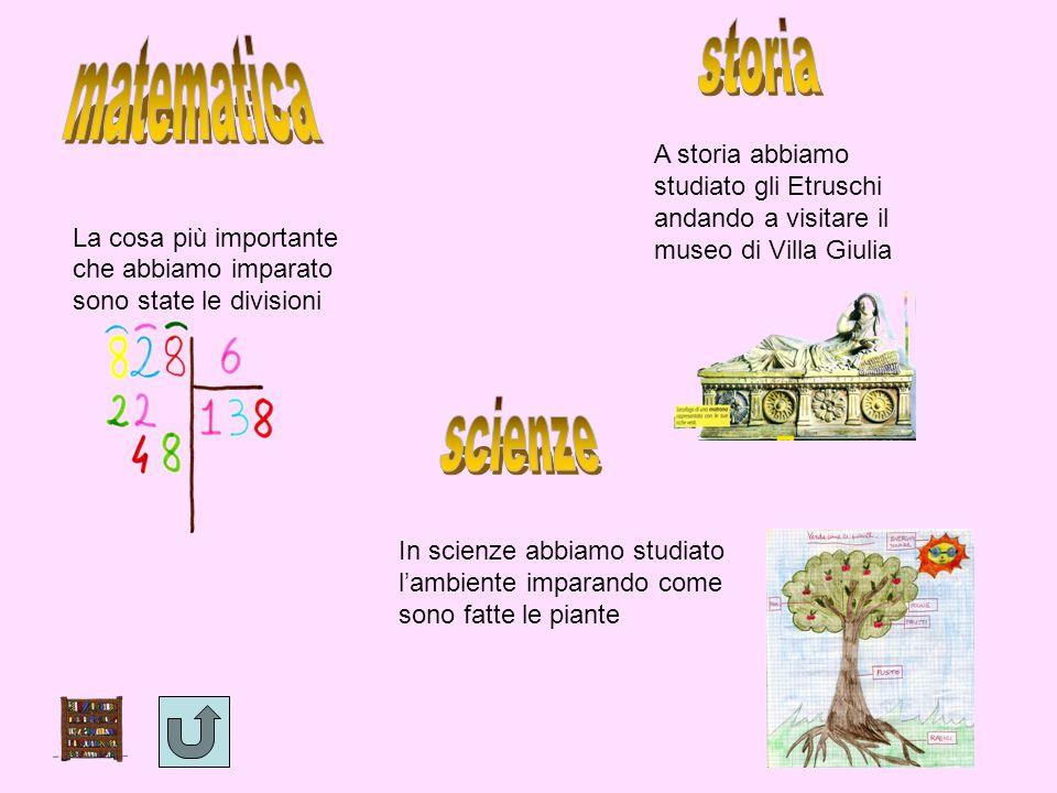 storia matematica scienze