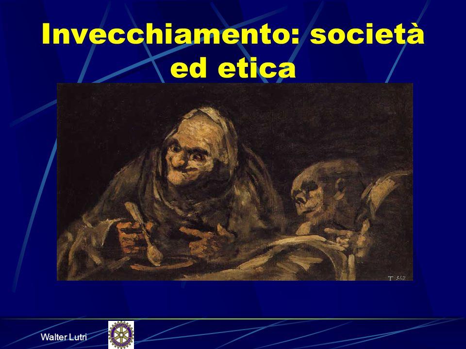 Invecchiamento: società ed etica