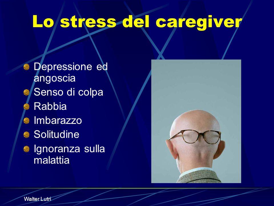 Lo stress del caregiver