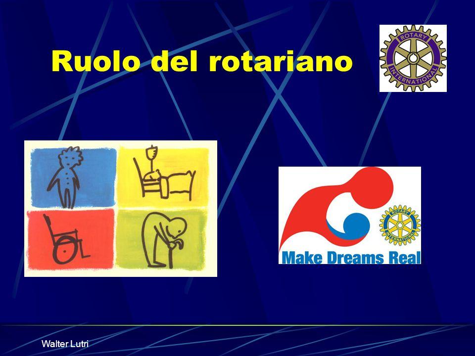 Ruolo del rotariano Walter Lutri