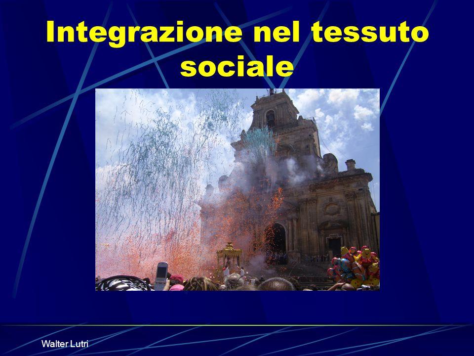 Integrazione nel tessuto sociale