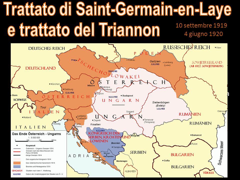 Trattato di Saint-Germain-en-Laye e trattato del Triannon