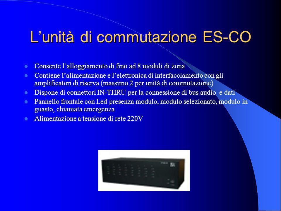 L'unità di commutazione ES-CO