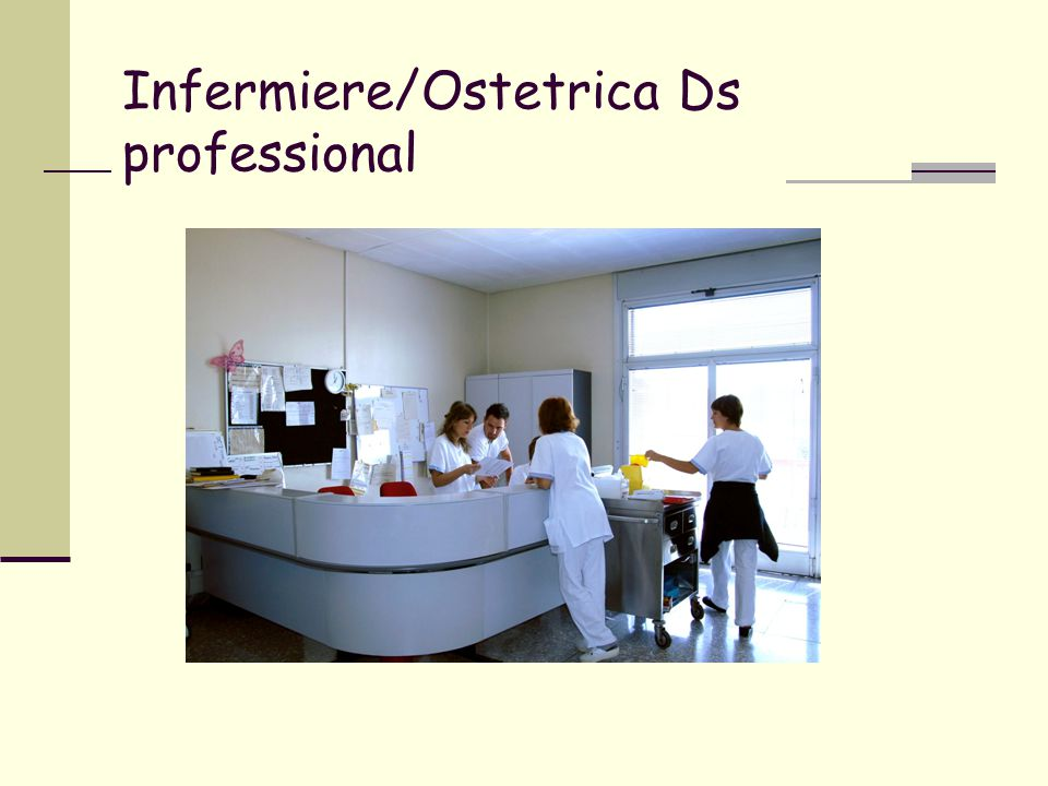 Infermiere/Ostetrica Ds professional