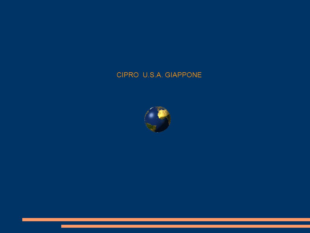 CIPRO U.S.A. GIAPPONE