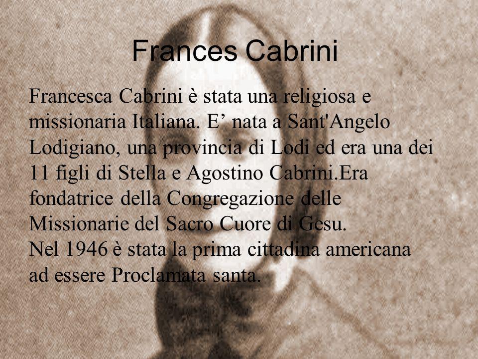 Frances Cabrini