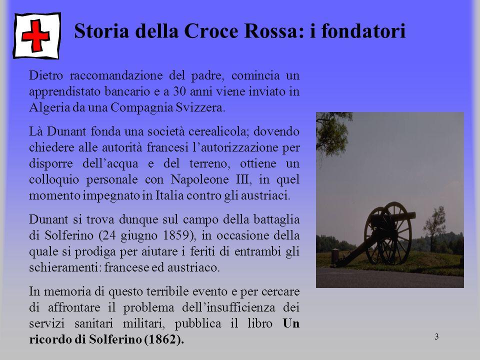 Storia della Croce Rossa: i fondatori
