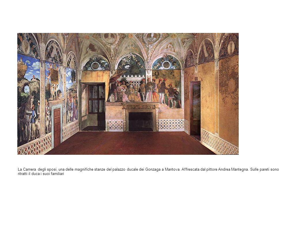 La Camera degli sposi, una delle magnifiche stanze del palazzo ducale dei Gonzaga a Mantova.