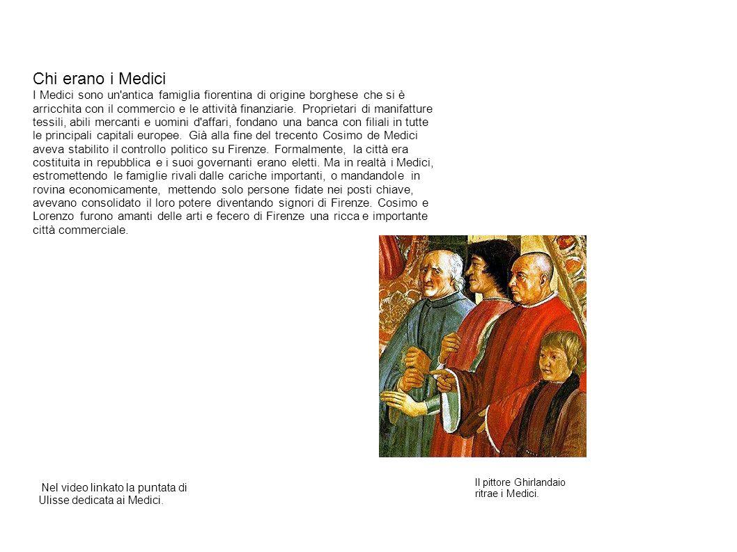 Chi erano i Medici