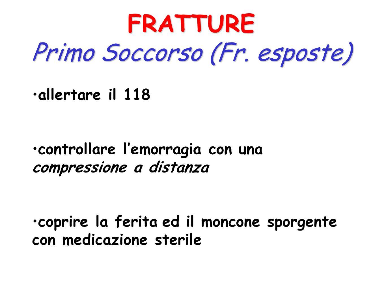 Primo Soccorso (Fr. esposte)