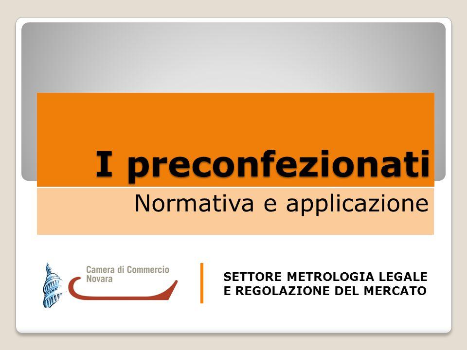 Normativa e applicazione