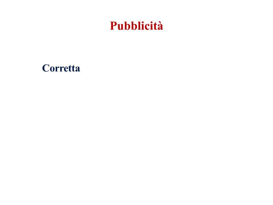 Pubblicità Corretta