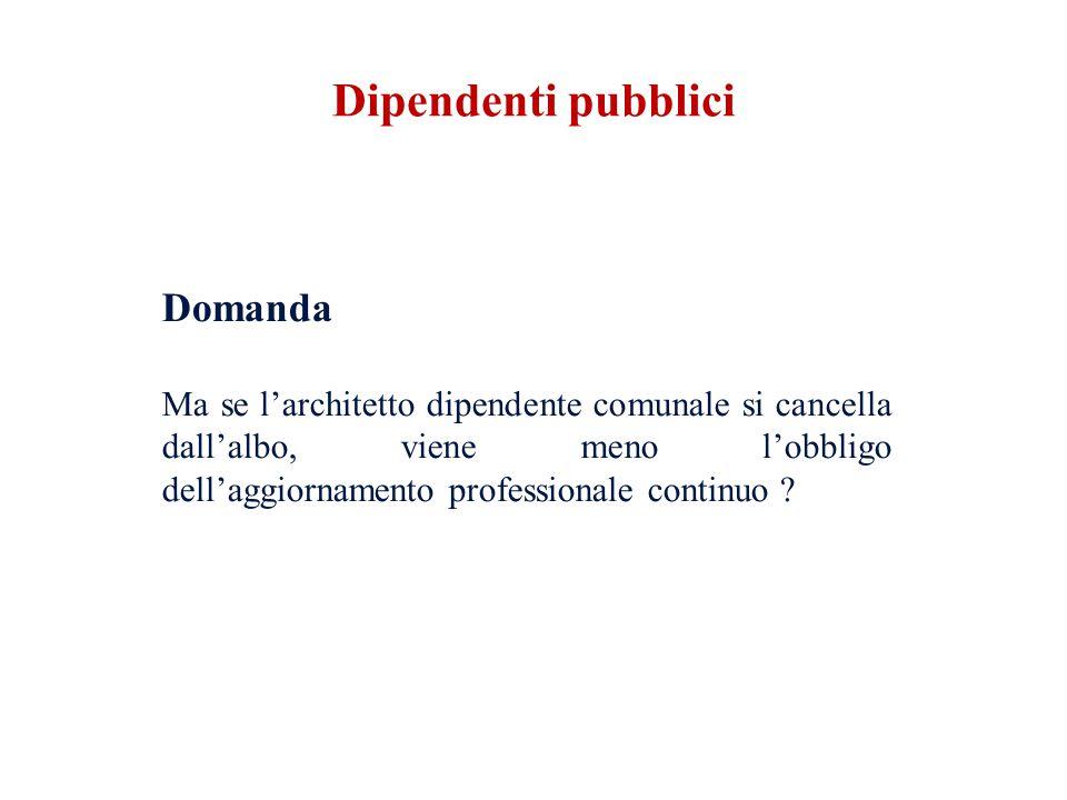 Dipendenti pubblici