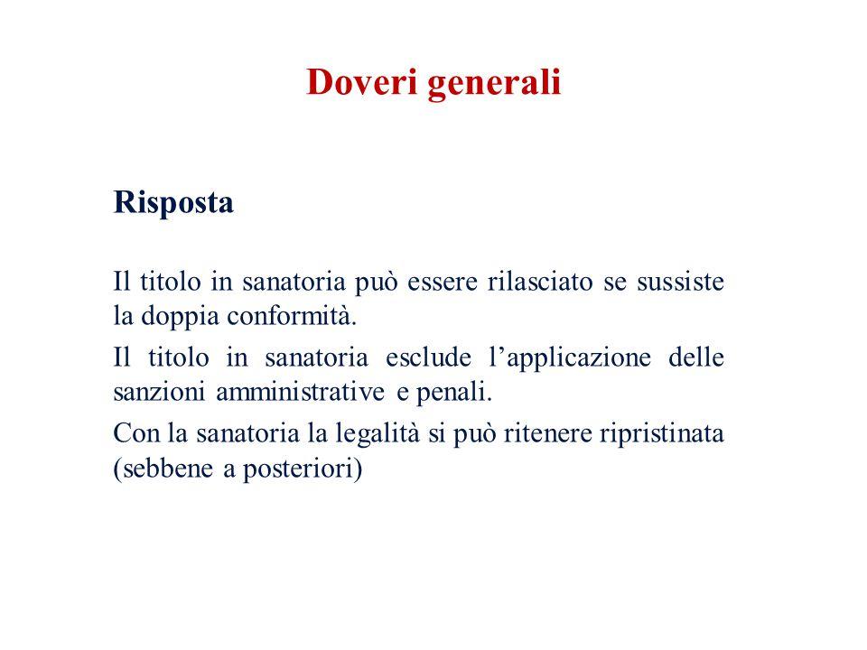 Doveri generali