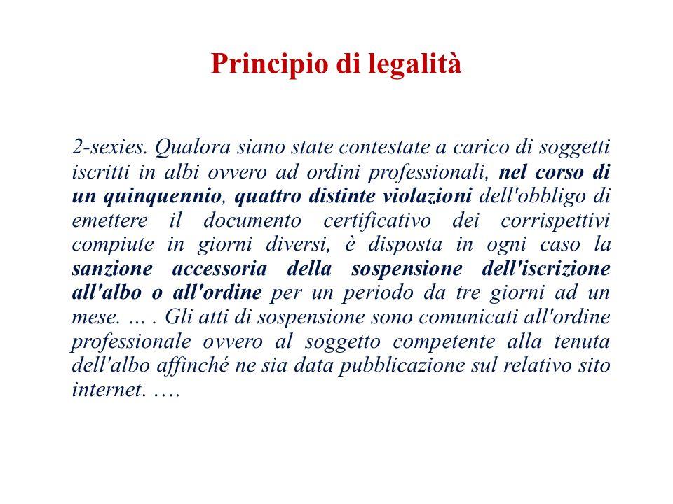 Principio di legalità