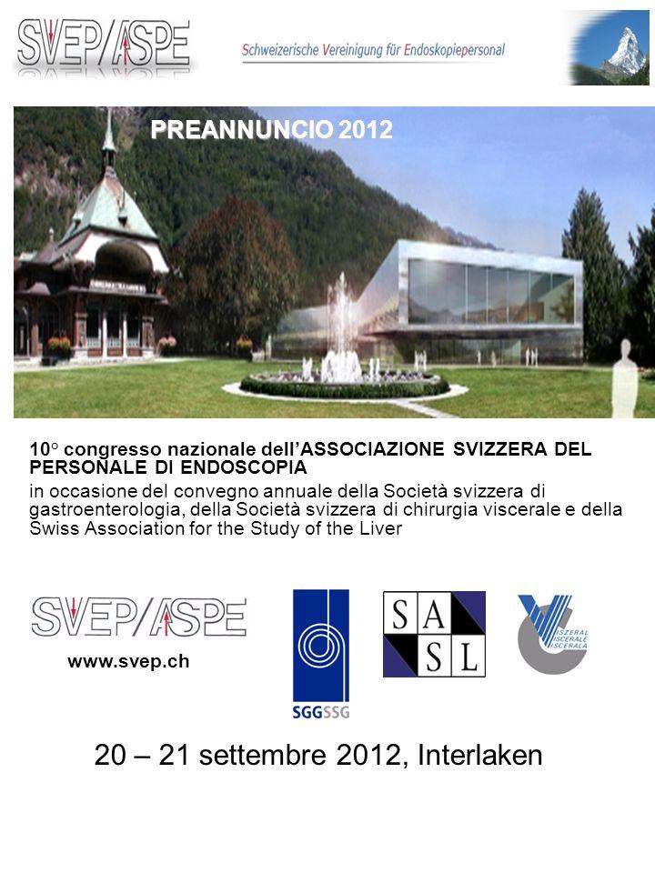 20 – 21 settembre 2012, Interlaken