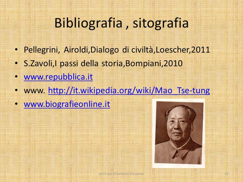 Bibliografia , sitografia