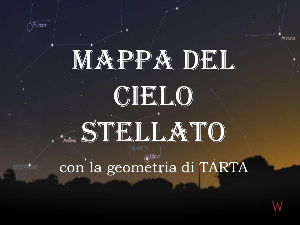MAPPA DEL CIELO STELLATO