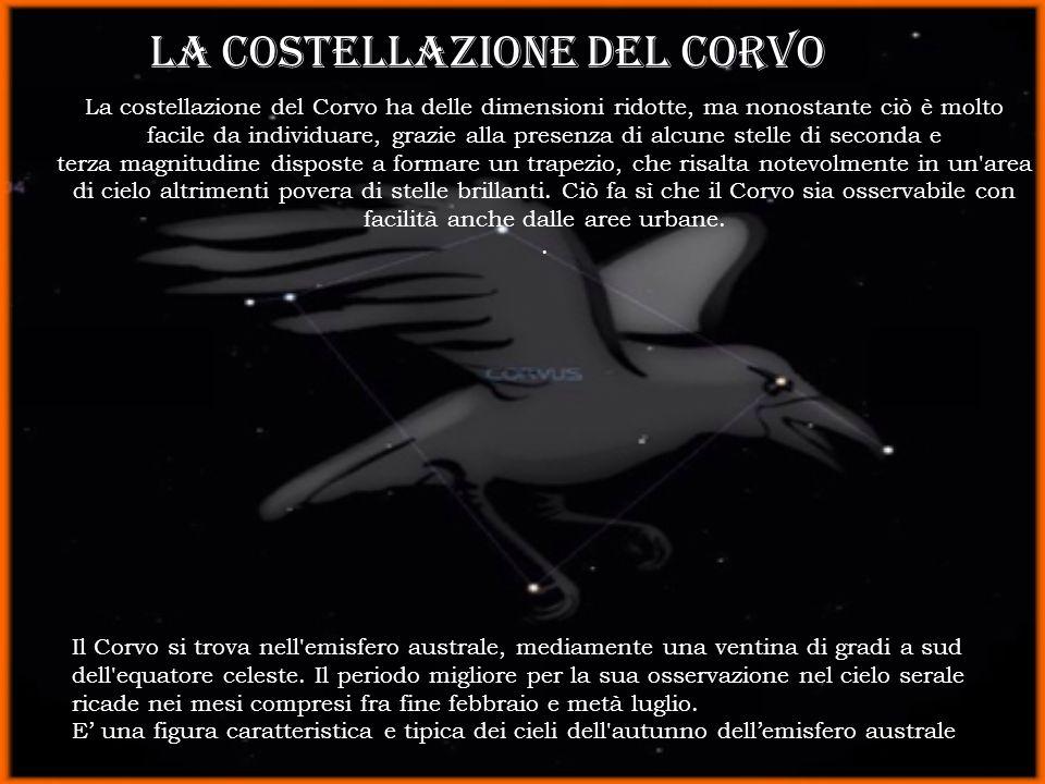 LA costellazione del corvo