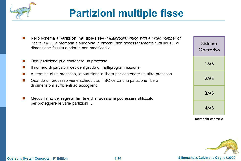 Partizioni multiple fisse