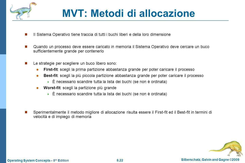 MVT: Metodi di allocazione