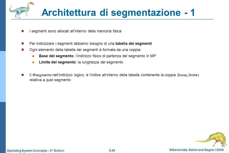 Architettura di segmentazione - 1
