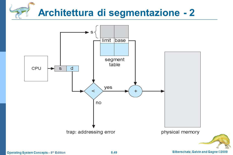 Architettura di segmentazione - 2