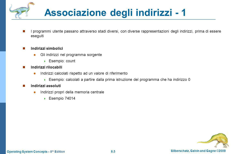 Associazione degli indirizzi - 1