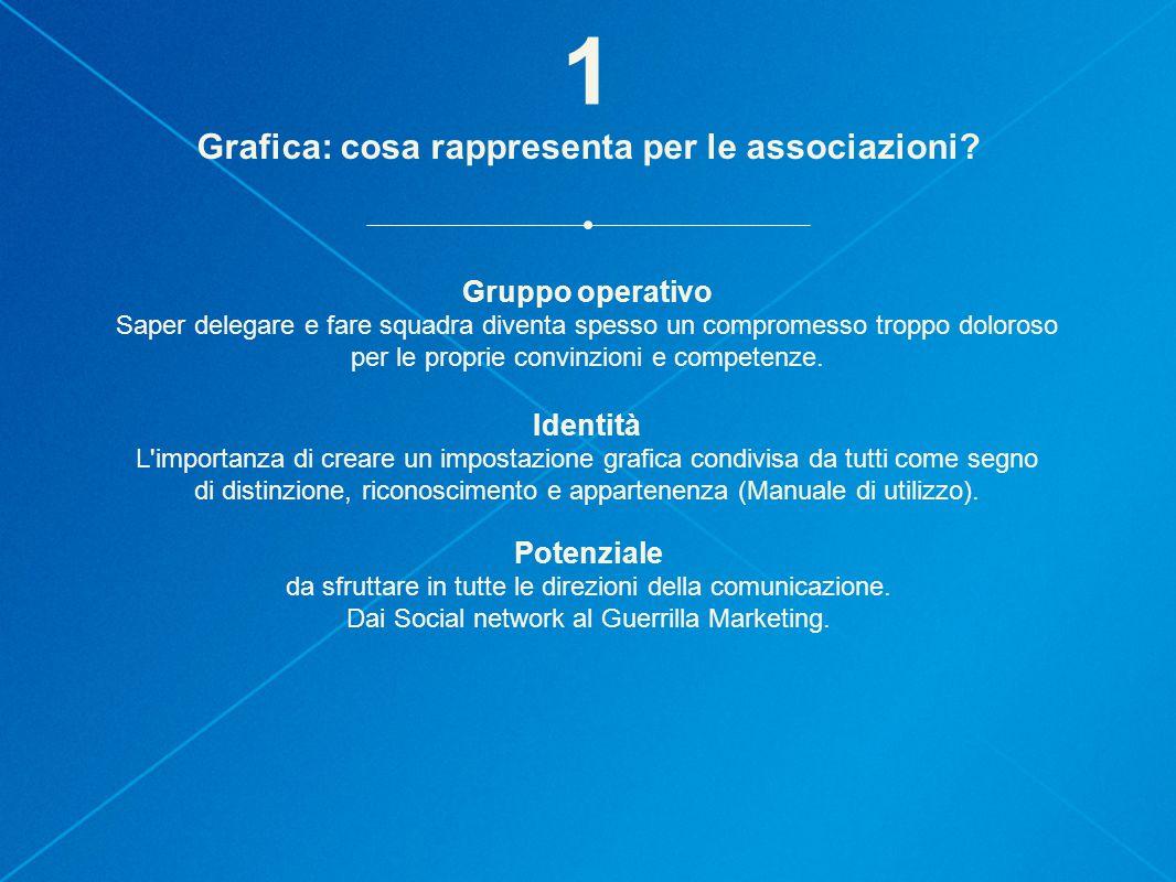 Grafica: cosa rappresenta per le associazioni