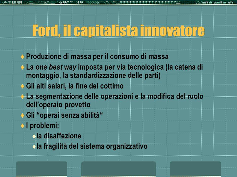 Ford, il capitalista innovatore
