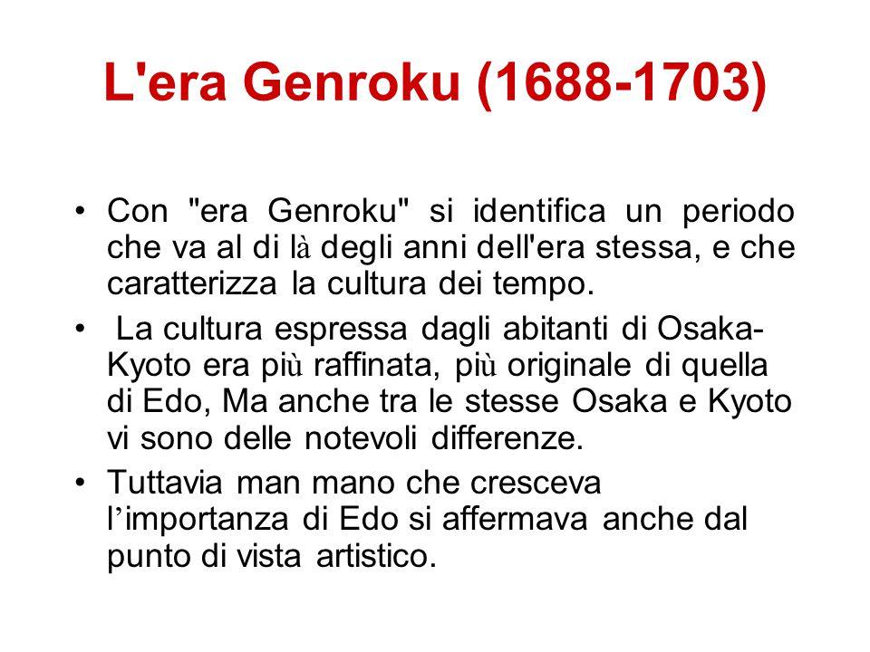 L era Genroku (1688-1703)
