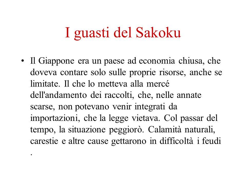I guasti del Sakoku
