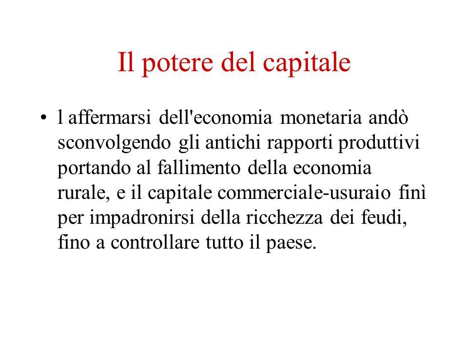 Il potere del capitale