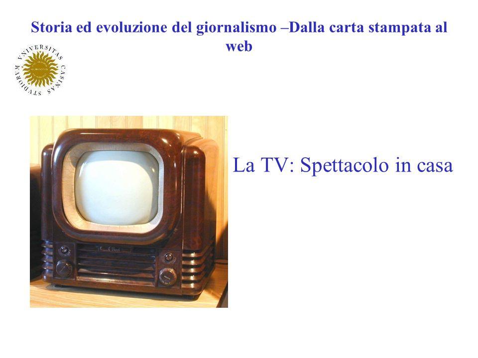 Storia ed evoluzione del giornalismo –Dalla carta stampata al web