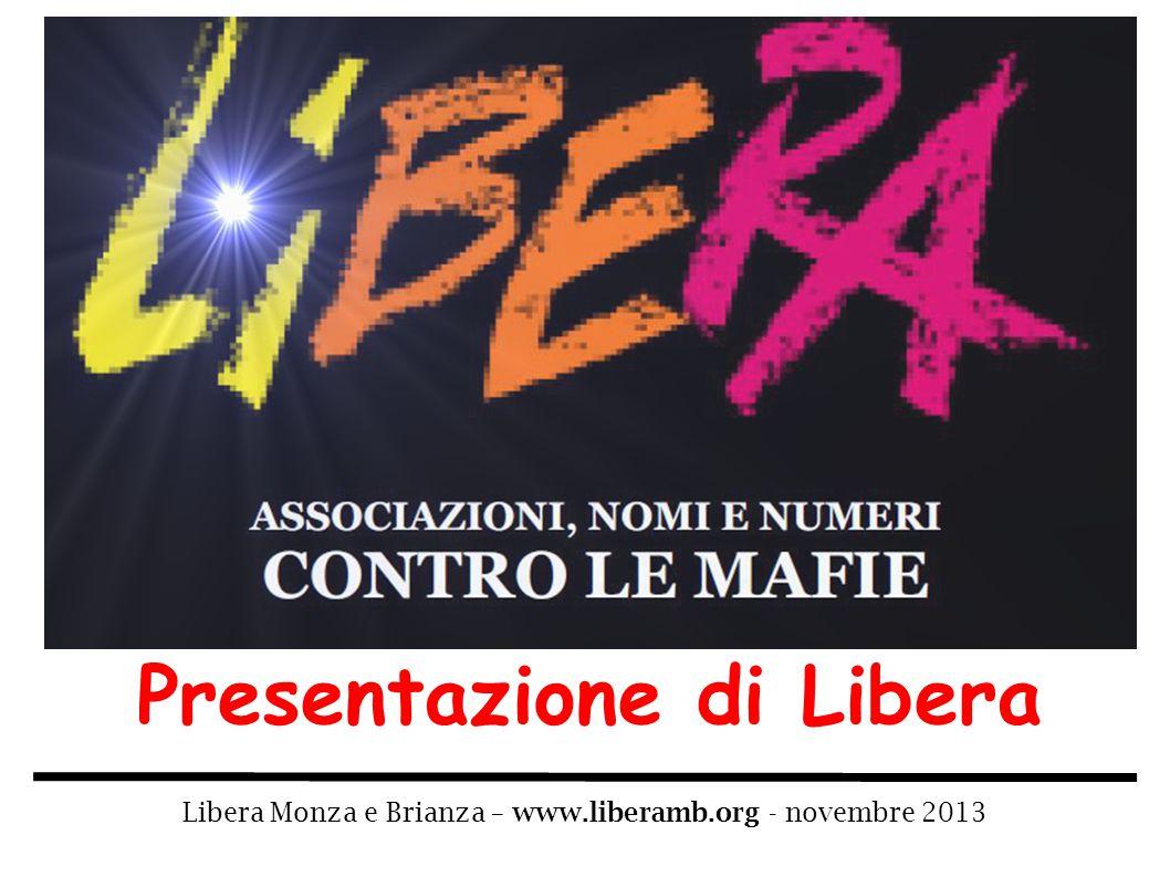 Presentazione di Libera