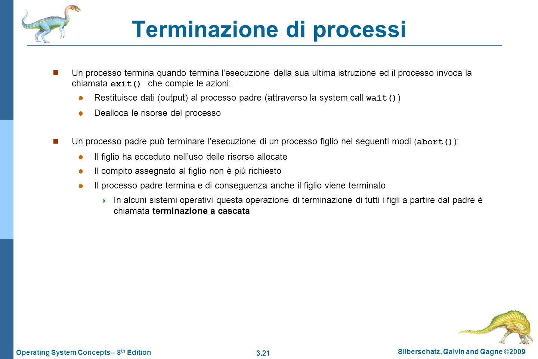 Terminazione di processi