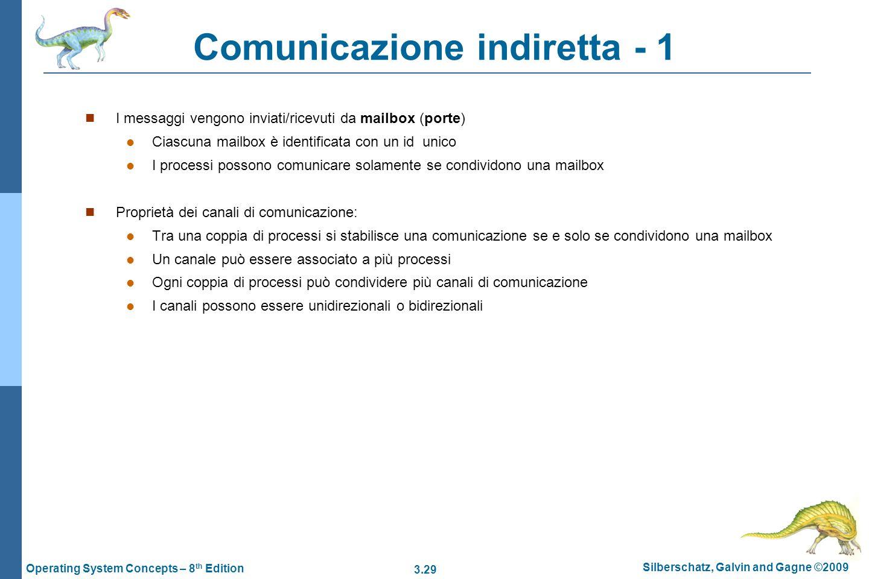 Comunicazione indiretta - 1