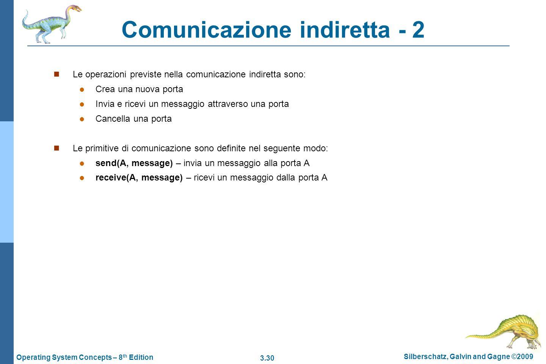 Comunicazione indiretta - 2