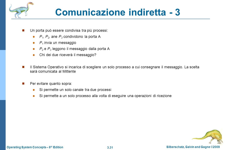 Comunicazione indiretta - 3